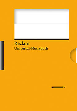 : Reclams Universal-Notizbuch orange