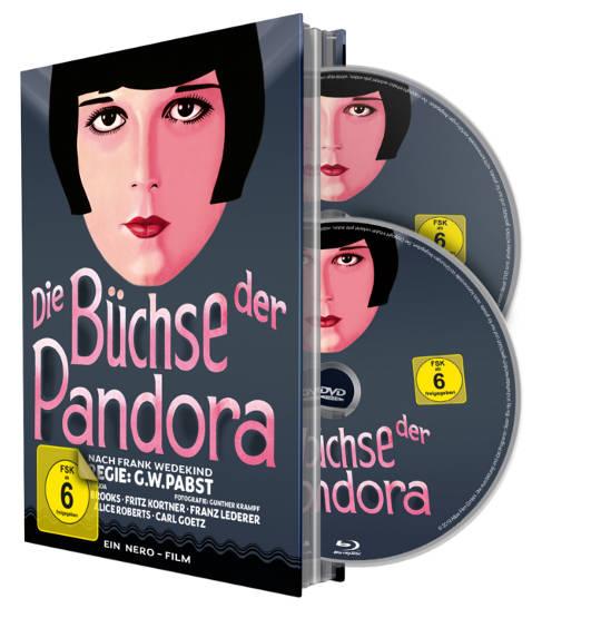 Mediabook: Die Büchse der Pandora