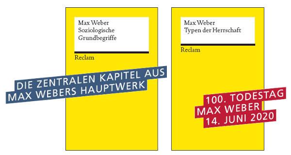 Max Weber bei Reclam