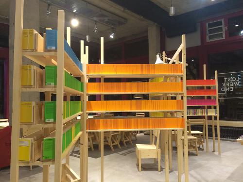 "Reclams Universal-Bibliothek in ""Lost Weekend"" in München"
