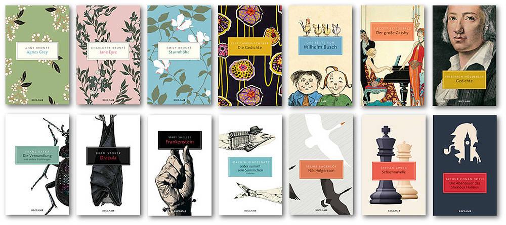 Die beliebtesten Klassiker in neuer Taschenbuch-Ausstattung